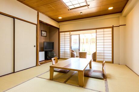 檜の内風呂付き和室10畳