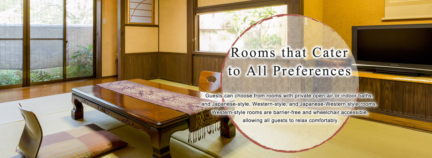 Rooms that Cater to All Preferences